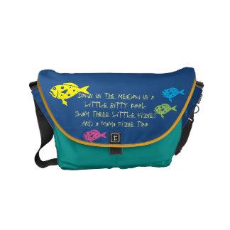 $ 82,95/€ 71,75 3 Fishiesの歌のランドセル メッセンジャーバッグ