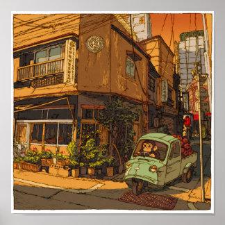 82:Fruit and vegetables Ashina Shop/Shimbashi ポスター