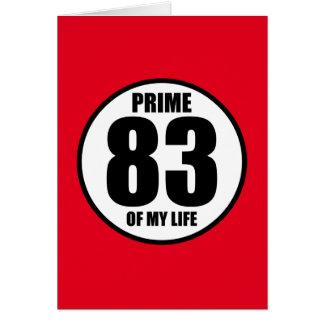 83 -私の生命の全盛 カード