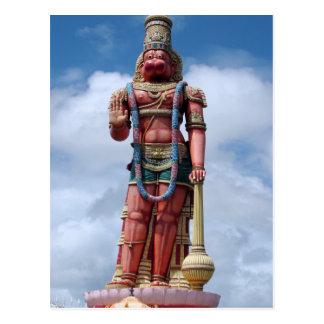 85ft Hanumanの彫像、Carapichaima、トリニダード ポストカード