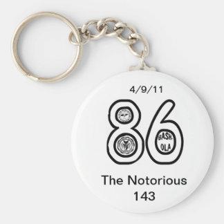 86懇親会の悪名高い143クラス キーホルダー