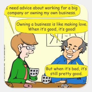 879あなた自身のビジネス漫画を所有するため スクエアシール