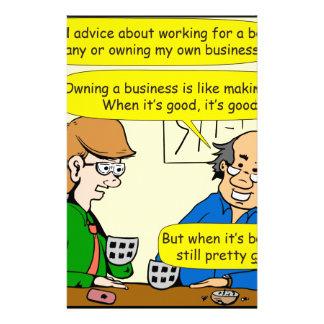 879あなた自身のビジネス漫画を所有するため 便箋