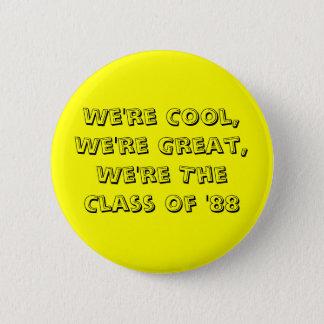 「88ボタンのクラス 5.7CM 丸型バッジ