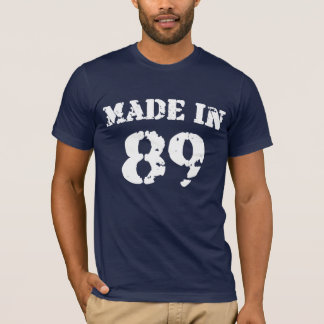 89ワイシャツで作られる Tシャツ