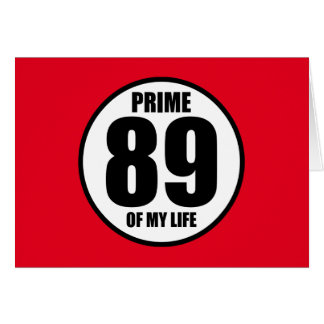 89 -私の生命の全盛 カード