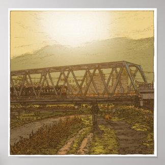 89:Keikyu Tama River Bridge/Rokugo ポスター