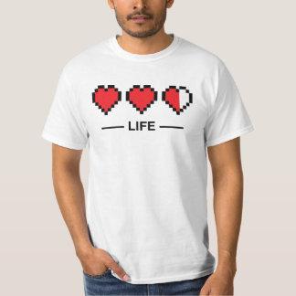 8bit生命バー tシャツ
