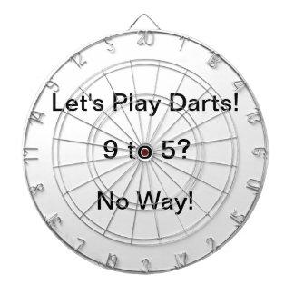 9から5か。 とんでもない! 投げ矢を遊ぼう! ダーツボード