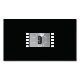 9つの磁気名刺の下の計算 マグネット名刺 (25枚パック)