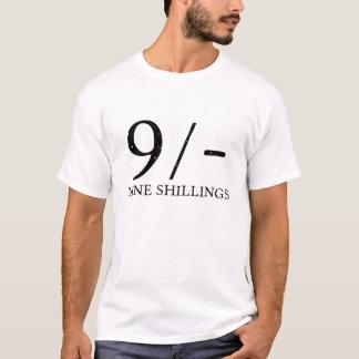 9シリング Tシャツ
