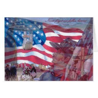 9月11日のコラージュ カード