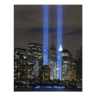 9月11日のツインタワーの記憶のプリント フォトプリント