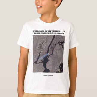 9月11日の世界貿易センターの余波 Tシャツ