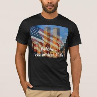 9月11日の前 Tシャツ