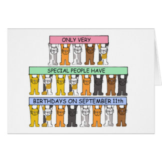 9月11日の誕生日 カード