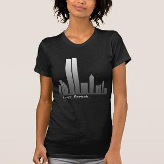 9月11日は決してプロダクトを忘れません Tシャツ