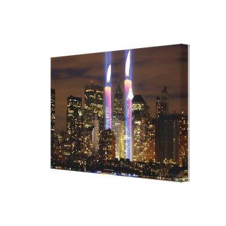 """""""9月11日""""ニューヨークシティ"""" キャンバスプリント"""