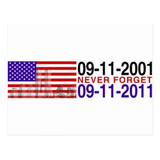 9月11日 ポストカード