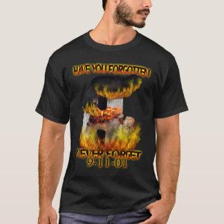 9月11日: 忘れましたか。 Tシャツ