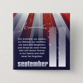 9月11日-愛国心が強い記憶Pin 缶バッジ