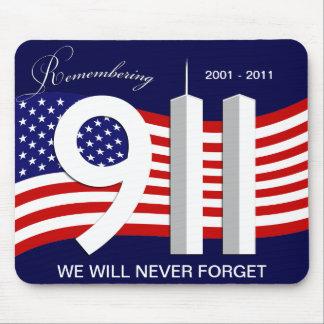 9月11日- 9/11第10記念日のマウスパッド マウスパッド
