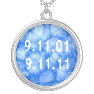 9月11日Remebrance シルバープレートネックレス