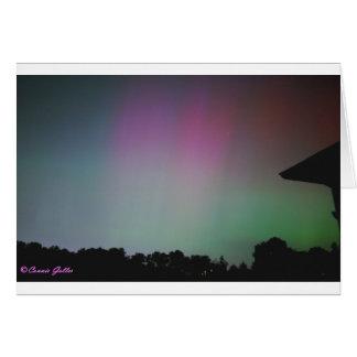 9月2002日のNorthern Lights カード
