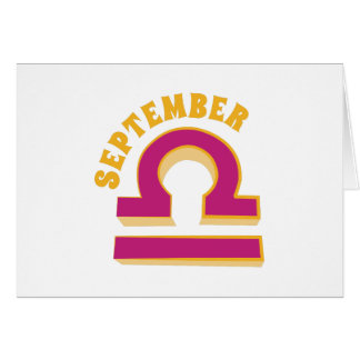 9月 カード