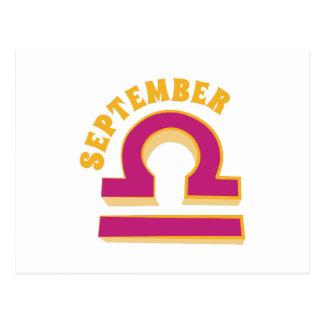 9月 ポストカード