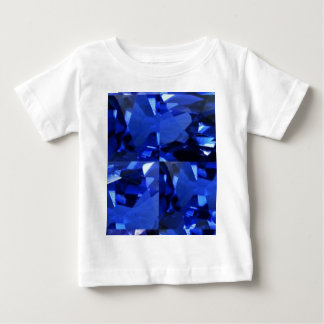9月Birthstoneの宝石 ベビーTシャツ