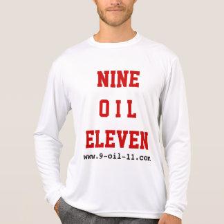 """""""9油11"""" x 2の極度のワイシャツ tシャツ"""