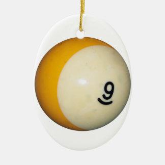 9球 セラミックオーナメント
