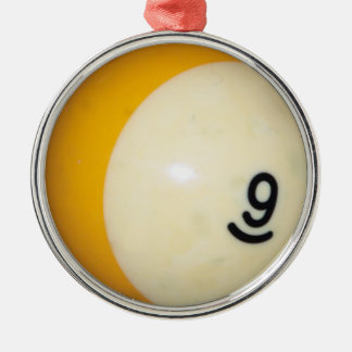 9球 メタルオーナメント