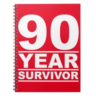 90年の生存者 ノートブック