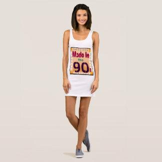 90年代になされる本物 袖なしドレス