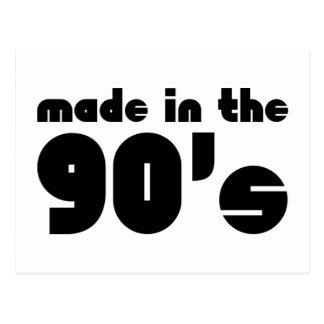 90年代に作られる ポストカード