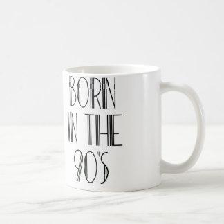 90年代に生まれて下さい コーヒーマグカップ
