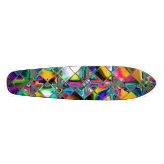 90年代の虹のオリジナルの芸術 20CM スケートボードデッキ