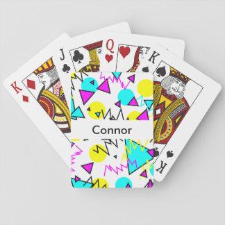 90年代はカードの遊を模造します トランプ