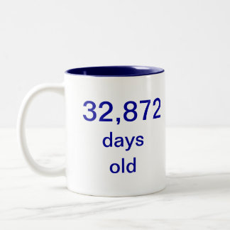 90歳 ツートーンマグカップ