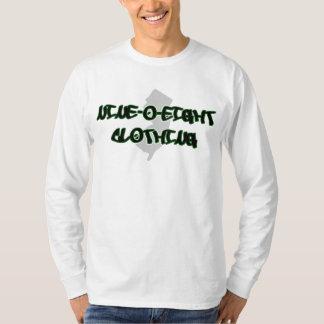 908衣類のロゴの長袖のティー Tシャツ