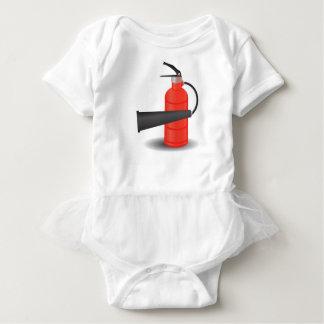 90Fire Extinguisher_rasterized ベビーボディスーツ