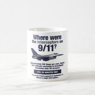 911の障害物はどこにありましたか。 コーヒー・マグ コーヒーマグカップ