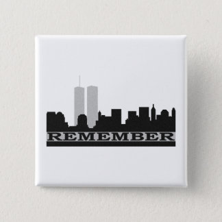 911のPinの背部ボタンを覚えて下さい 缶バッジ