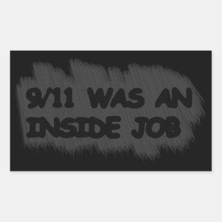 911は中仕事でした 長方形シール