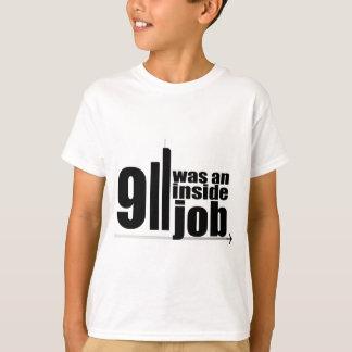 911は中仕事でした Tシャツ