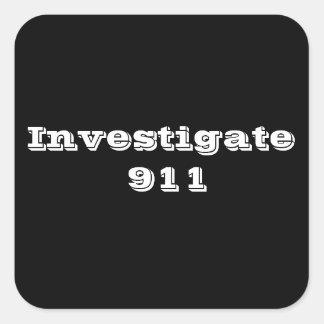911を調査して下さい スクエアシール