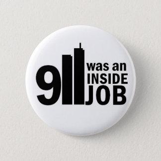 911中仕事のバッジ 缶バッジ