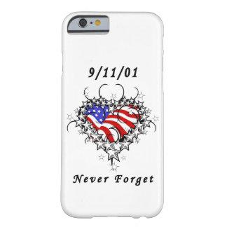 911入れ墨は決して忘れません BARELY THERE iPhone 6 ケース